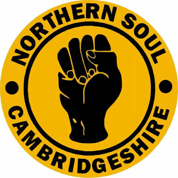 2 X Northern Soul Cambridgeshire Car Stickers | Soulful Records